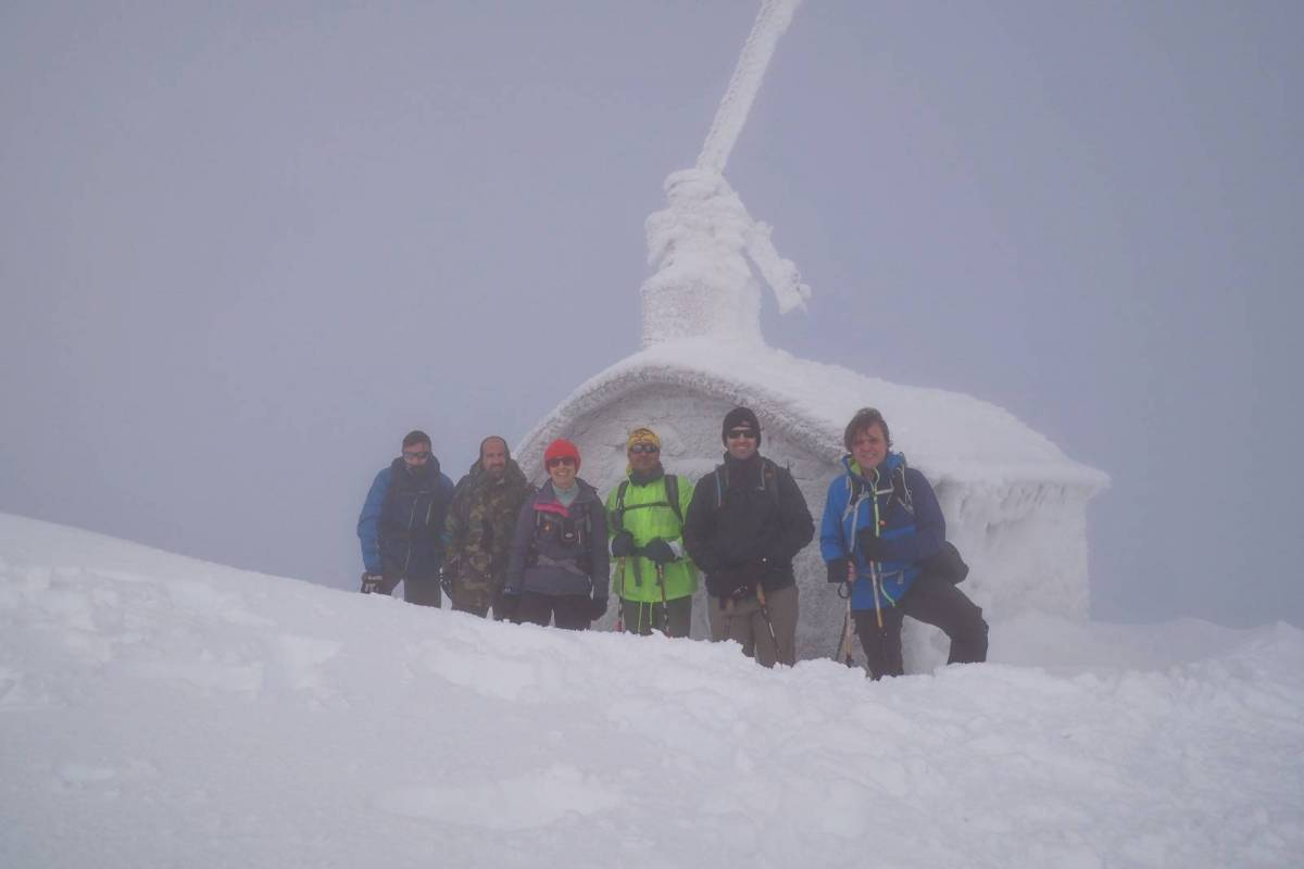 Χειμερινή ανάβαση στον Άγιο Παύλο Φαλακρού