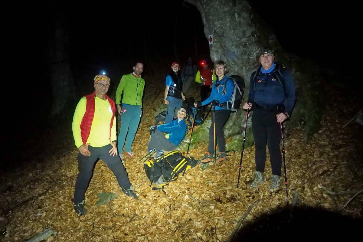 Νυχτερινή ανάβαση στο Παγγαίο
