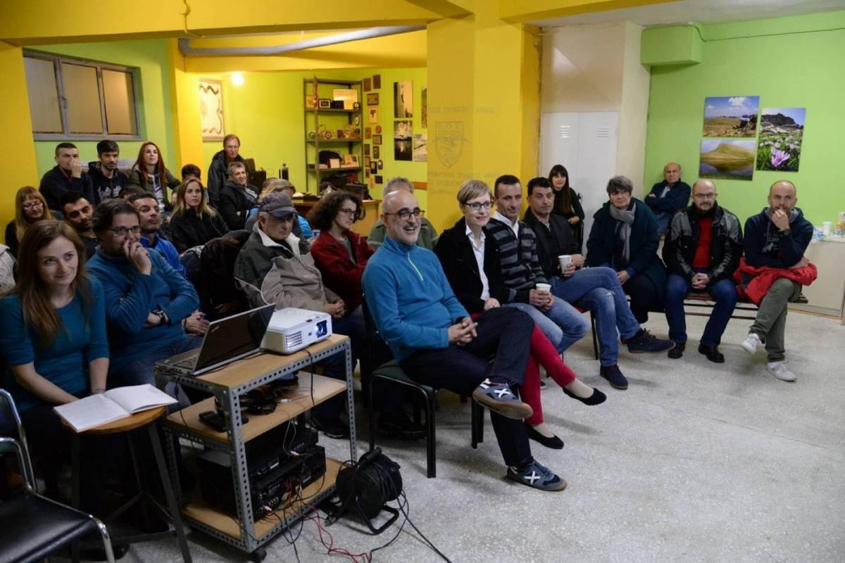 Εκδήλωση με την Γεωργία Μήτσιου: Σπάρταθλον, ένα αλλιώτικο ταξίδι.