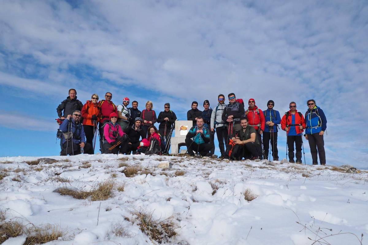 Ανάβαση στο Μενοίκιο Όρος από τον Ε.Ο.Σ. Καβάλας