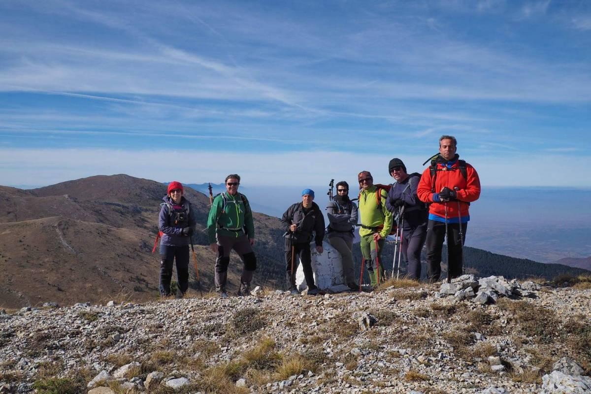 Ανάβαση του Ε.Ο.Σ. Καβάλας στον Όρβηλο από την Βουλγαρία