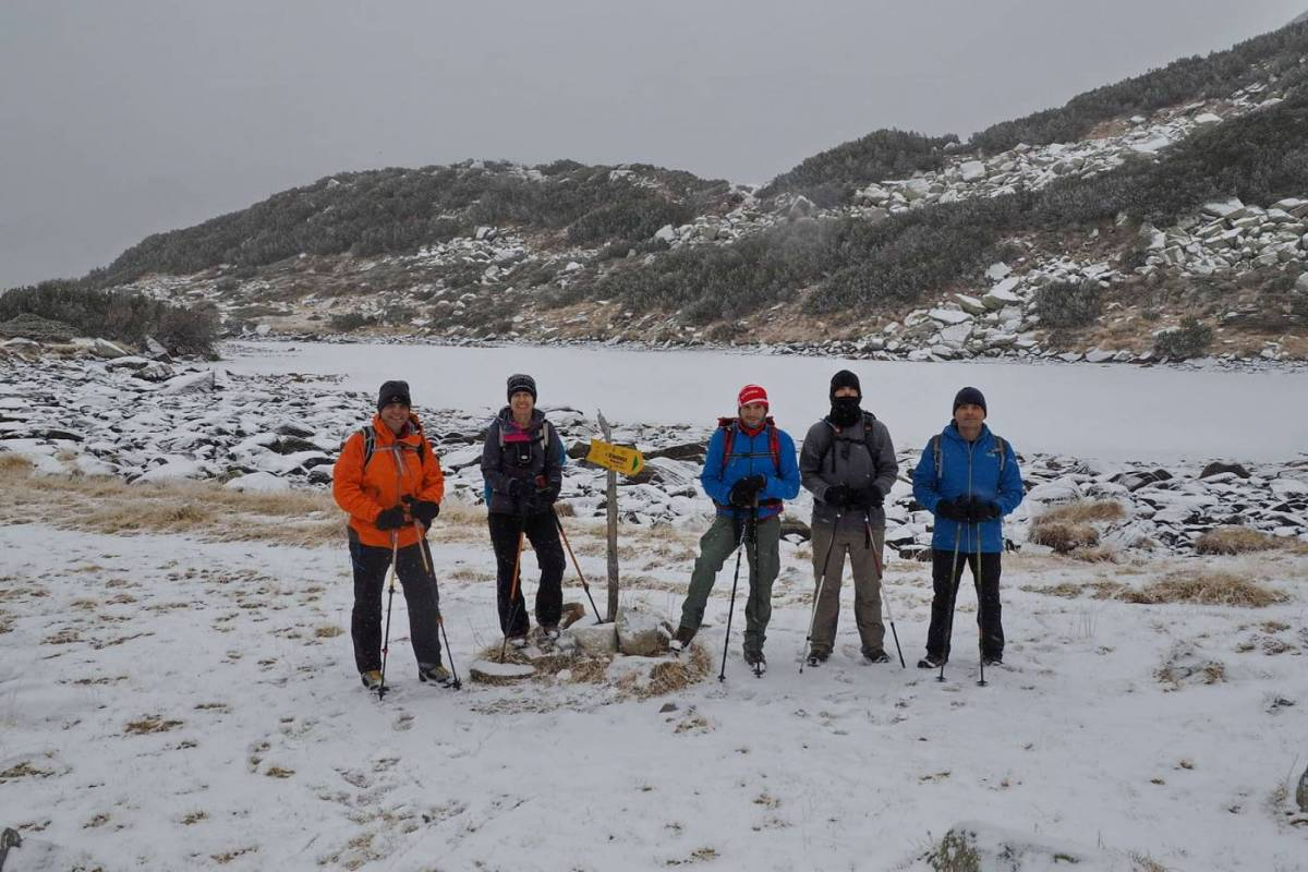 Ο ΕΟΣ Καβάλας στο χιονισμένο Pirin της Βουλγαρίας
