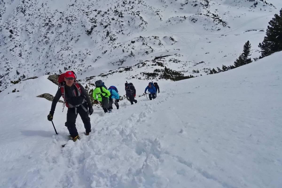 Χειμερινή ανάβαση στο Pirin της Βουλγαρίας