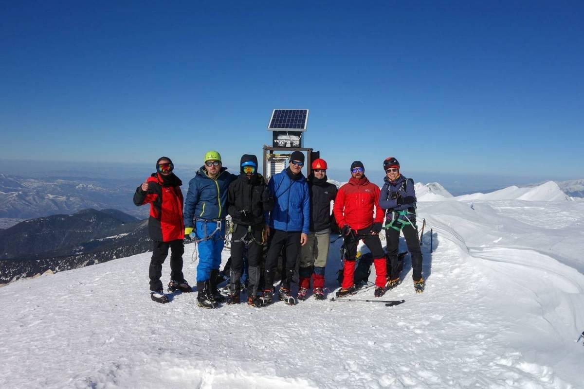 Ο Ε.Ο.Σ. και ο Σ.Χ.Ο. Καβάλας στην κορυφή Vihren (2914m)